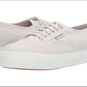BRAND NEW, TAG ON Grey Superga Women's 2730
